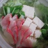 金目鯛鍋♡