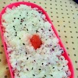 ✿お弁当に酢飯ごはん❤中身は梅&ゆかり&ごま