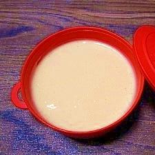 濃い牛乳で☆アングレーズソース