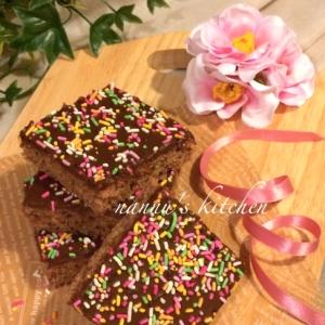 バレンタインに♪フィンランド流カフェモカケーキ