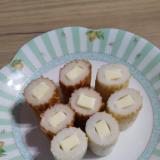 お弁当にも(^^)やっぱりちくわチーズ!