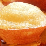 簡単★ホットケーキの素で作るシンプルマドレーヌ