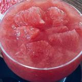 ルビーグレープフルーツのアガーゼリー