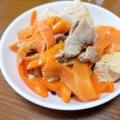 にんじんと豆腐のチャンプルー