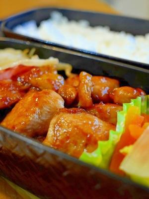 鶏むね生姜焼き