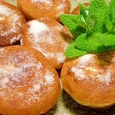 フライパン揚げ焼き☆ドーナツ