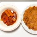 〔韓国料理〕トッポギ~ 韓国餅の甘辛和え~