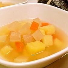 根菜のホットスープ