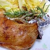 超カロリーカット・骨付き鶏モモ肉のローストチキン
