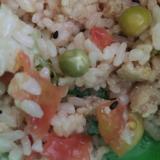 幼児食に!トマト入りひき肉ご飯!