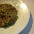 離乳食 納豆キャベツのお焼き