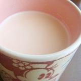 菊花プーアルミルク