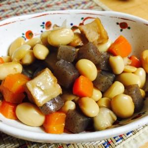 大豆を食べよう!五目前煮