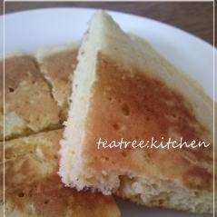 ふわふわ♪卵パンケーキ