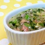 【離乳食】中華風とろみ煮(白菜&ツナ)