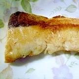 白身魚の塩麹焼き