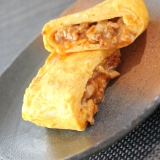 お弁当に♪牛ひき肉のミートオムレツ風☆卵焼き