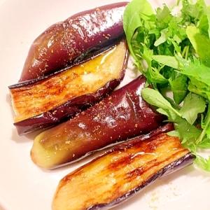 皮まで美味しい♪とろける食感のイタリアンな焼き茄子