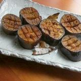簡単!バルサミコ酢で❤茄子のオリーブオイル炒め♪