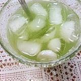 アイス☆バニラ黒酢玄米グリーンティー♪