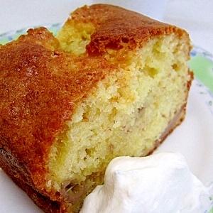 甘くてふんわり◎バナナケーキ