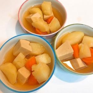 高野豆腐と根菜の☆美味しいあっさり煮