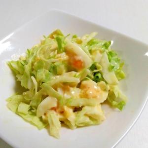 お手軽もう一品☆タルタル卵とレタスのサラダ