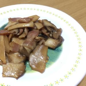 簡単5分!「エノキのバター醤油」☆