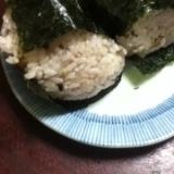 五穀米のおにぎり
