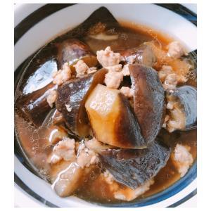 冷やしても◎!鶏ひき肉&ナスのつゆだく煮びたし♪