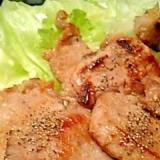 ブロック肉を使って豚もも肉の塩麹ハニー焼き♪