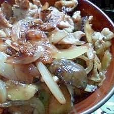 野菜豚丼★簡単まかない飯
