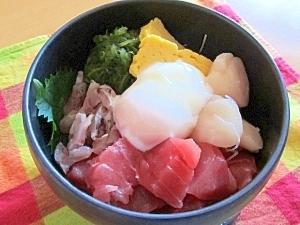 わが家の海鮮丼♡