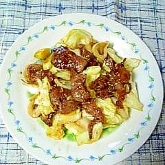 ☆牛肉キャベツのオイスター炒め☆