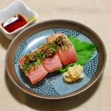 しその実味噌が香るまぐろの握り寿司