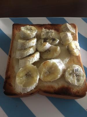 甘党必見!ハニーバナナトースト