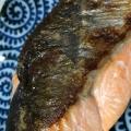 フライパンで焼き鮭