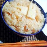 炊飯器で簡単、桜タケノコご飯