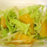 マンゴーとキャベツのサラダ