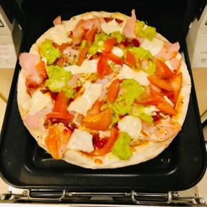 ワカモレ トマト 市販のピザ アレンジ