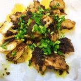 固形カレールウで作る、タラのカレー風味焼き