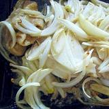 鶏もも肉と玉ねぎの漬け込みオーブン焼き★