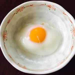 電子レンジで簡単#温泉卵