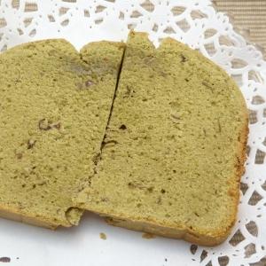 HBで作る抹茶粒あんバターケーキのレシピ