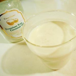 ココナッツはちみつホットミルク