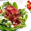 サラダほうれん草のグリーンサラダ