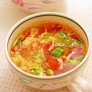 Sugaちゃんのトマ・たまスープ