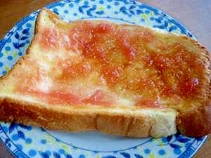 甘じょっぱい♪ジャム&バタートースト♪