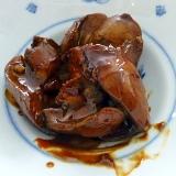 簡単 貧血防止 しっとり鶏の肝煮 なつめエキスかけ