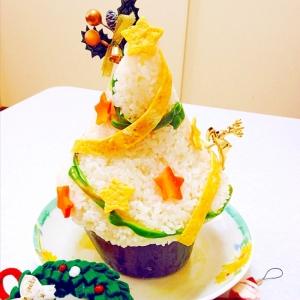 寿司ツリー   で クリスマスパーティー